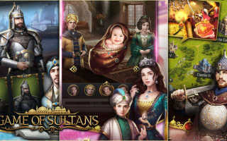 Наследники в игре Великий султан