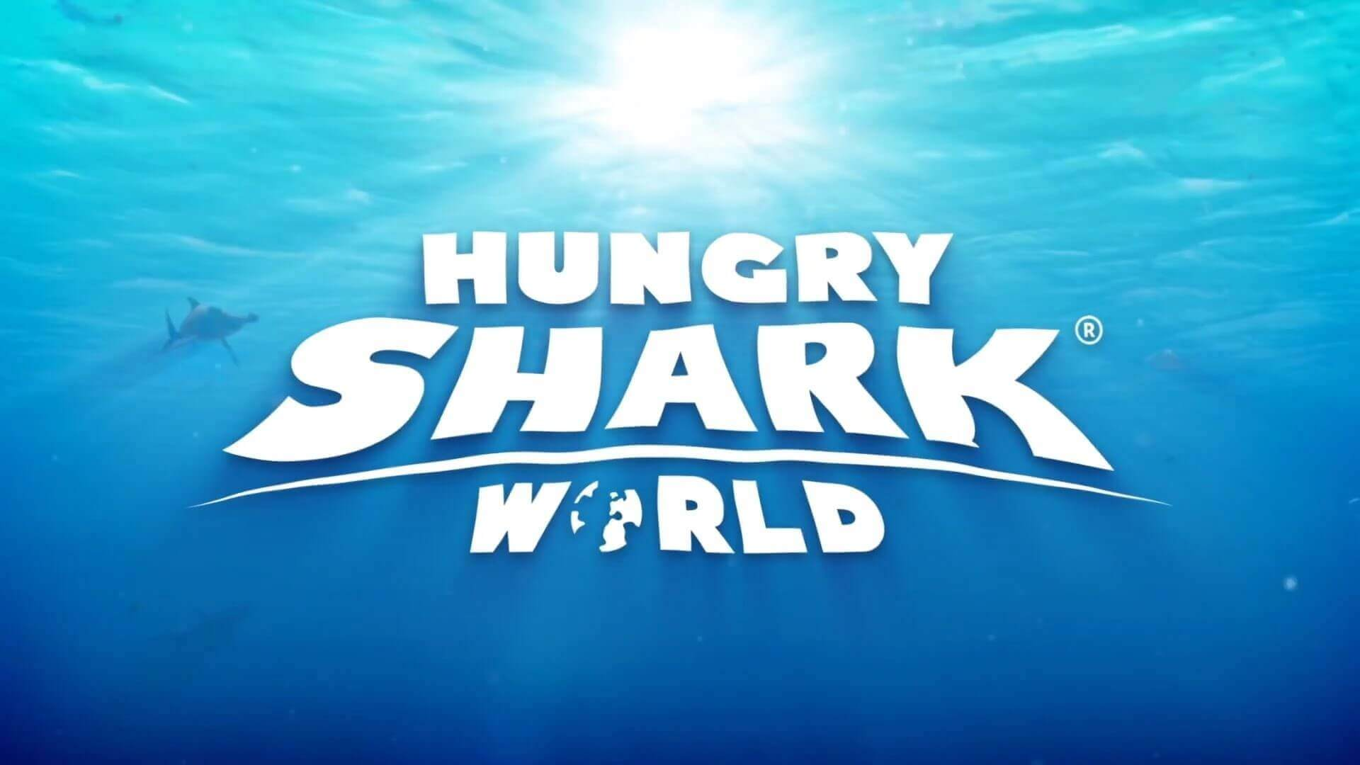 Логотип Hungry Shark