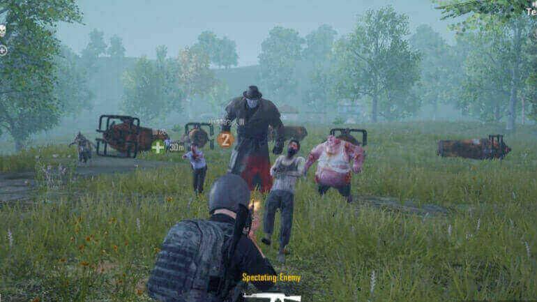 Убиваем зомби