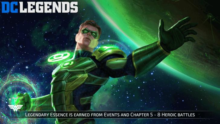 DC Legends Зелёный фонарь