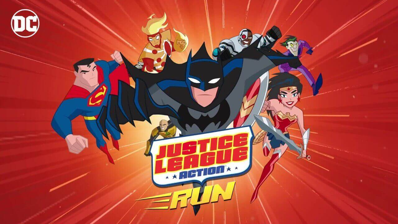 Justice League Action Run Все герои