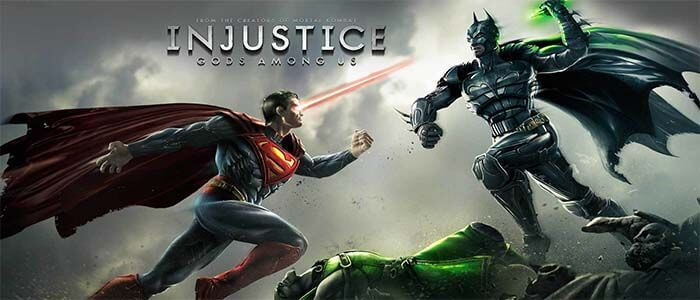 Injustice: Gods Among Us Бетмен против Супермена
