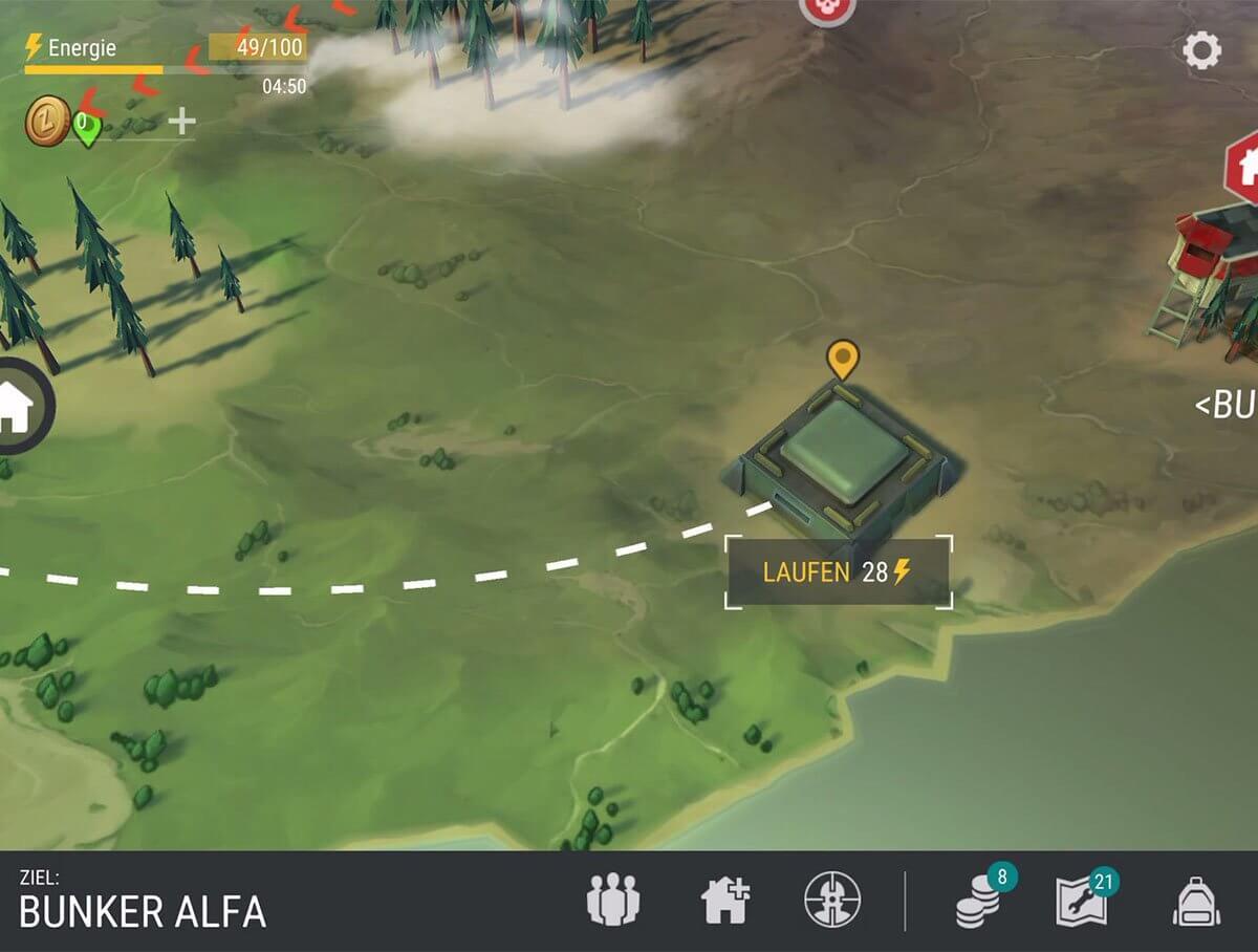 Путь к бункеру Альфа