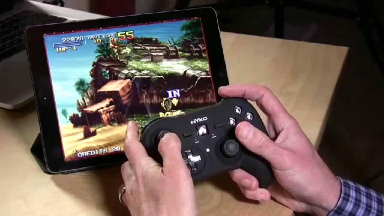 Управление игрой через геймпад