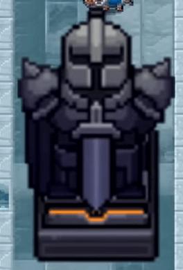Статуя вызывает 3-х рыцарей