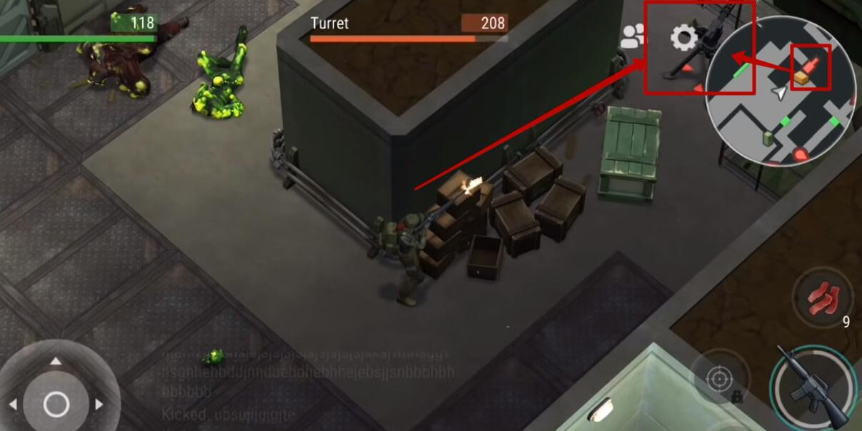 Стрельба из автомата