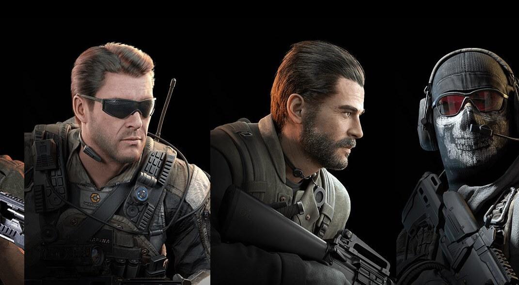 3 внешки персонажей