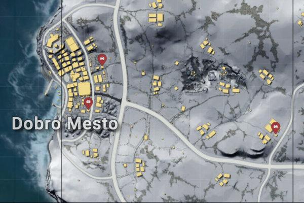 Добро Место на карте
