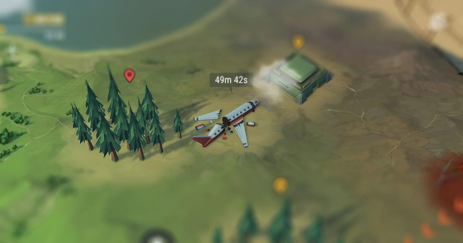 Разбитый самолёт
