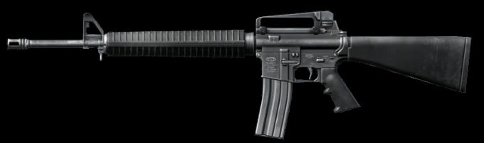 вид автомата M16