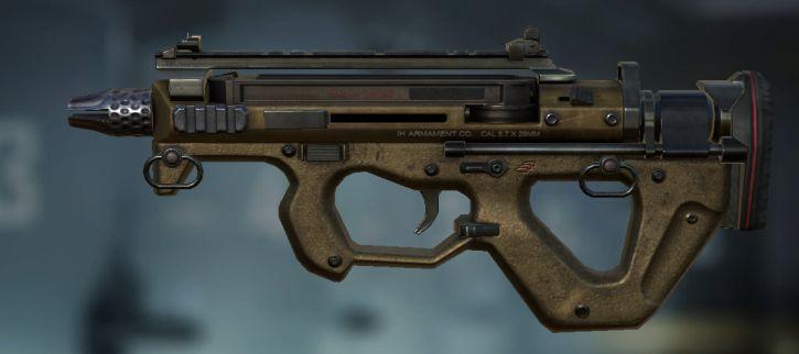 вид PDW пулемёта в игре