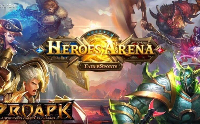 загрузочный экран Heroes Arena