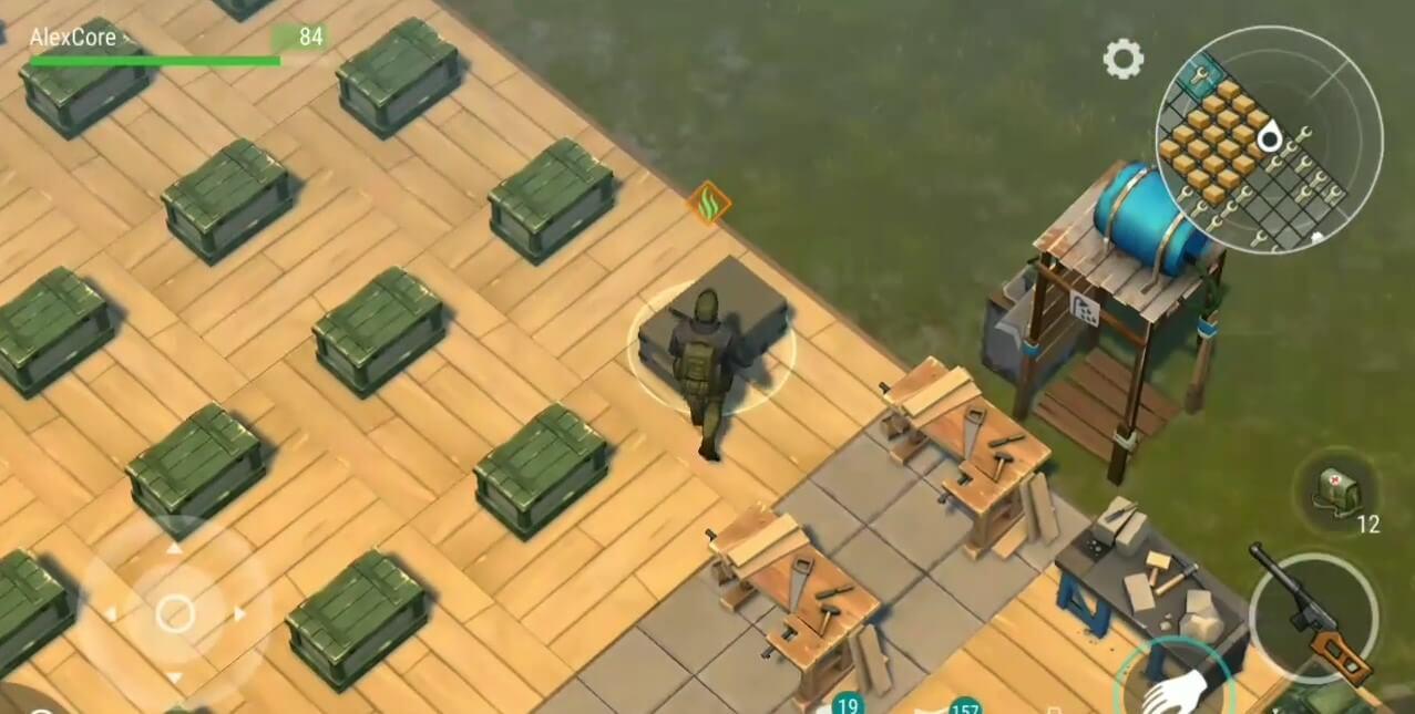 Расставляем ящики на своей базе