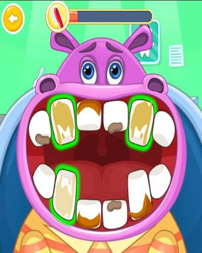 Лечим зубки бегемоту