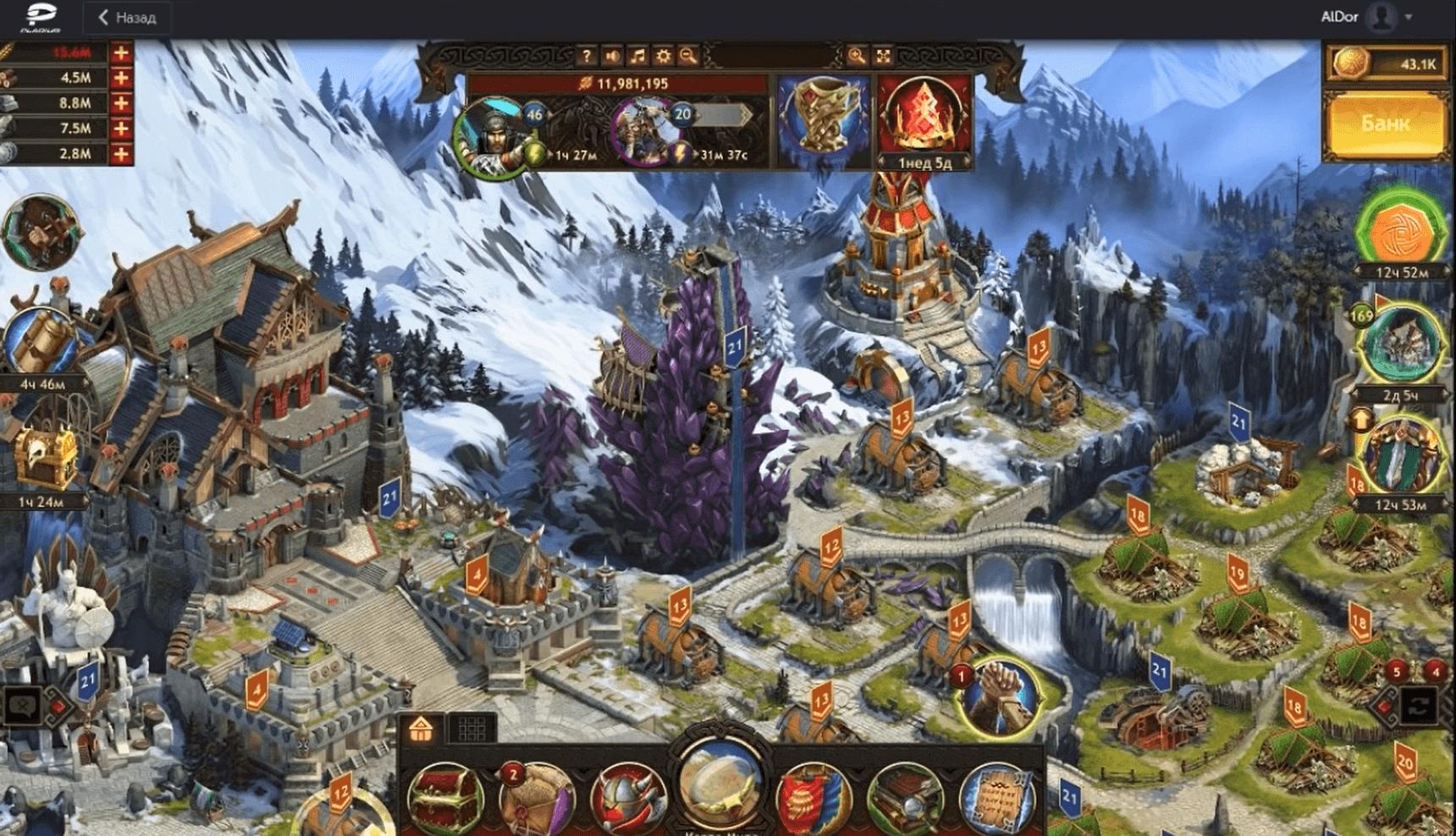 Играйте в мобильную игру Викинги